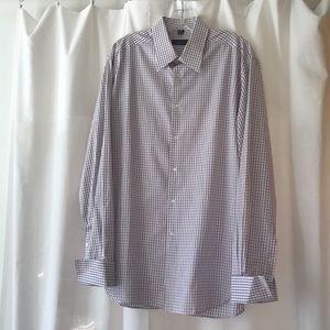 Barney's New York men's button front shirt
